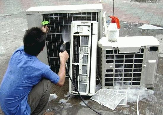 重庆清洁公司:你所在的地方中央空调清洗了吗?